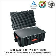 Type plastic trolley protective case with foam insert