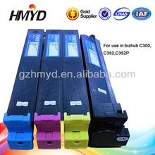 Tn312 cartucho de tinta para Bizhub C352 C300 C352P