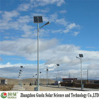13 years experience Kyocera cell parabolic solar concentrator Solar street light photovoltaic