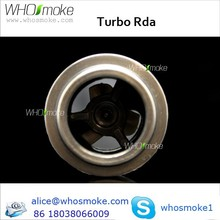NEW !!! authentic White turbo rda directly from Factory ,factory price