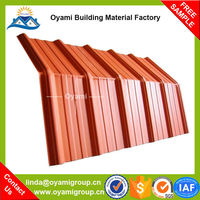 Heat resistant flexible factory/warehouse roof tiles for construction