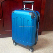 ABS trolley hard shell luggage set, travel suitcase and bag set factory 2015