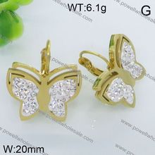 Popular Products In USA Custom Design Jewelry butterfly ladies earrings designs pictures