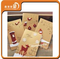 handmade wholesale paper christmas card service