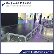 Nine Trust Hot sale Modular Staging /Stage Modules/aluminum stage deck for concert