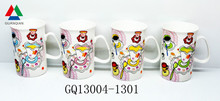 Liling coffee cup best bone china brands with decls for gift
