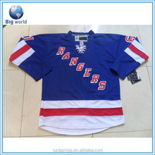 Top quality ice hockey wear/sublimation hockey uniform/custom hockey jersey wholesale