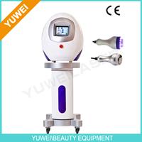 YUWEI Portable 40KHz&28KHz Shock Wave Machine with Cavitation Vacuum Lipo Laser