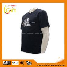 China manufacture high quality black stylish mens bulk promotional t-shirt