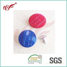 Fashion custom 20mm jeans buttons,shank button painted ren or other
