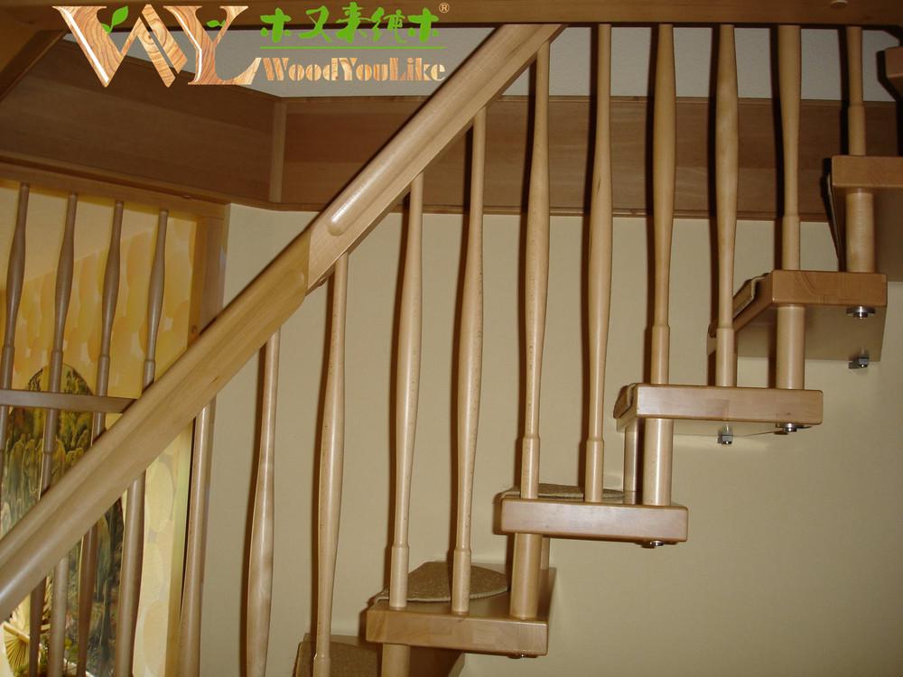 Escalier flairant bois moulure de bois pour escalier  ~ Moulure Escalier Bois