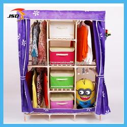 purple oxford fabric wardrobe closet a&e home furniture