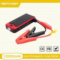 12v lithium emergency car portable battery 12000mah jump Starter 12v car jump start kits for gasoline