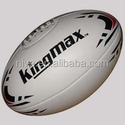 leather machine hand sewn uk rugby ball football usa