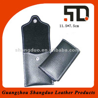 China Factory Genuine Leather Mobile Phone Case With Flap Cover