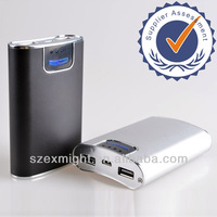 Portable universal power bank for Mobile Phone charger; i Phone/i Pad/Camera mobile power bank mocle with FREE OEM Logo