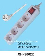 Yiwu No.1 rXH-9002K eplace power socket electric wall socket