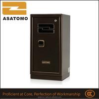 Hot sale digital office furniture jewelry gold China supplier fingerprint lock bronze color safe deposit box or home safe