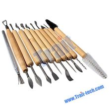 hobby DIY Tools, 11Pcs Wax Carvers Polymer Clay Pottery Sculpture Craft Hobby DIY Tools,
