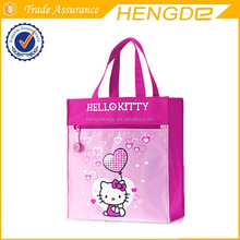 Lovely kitty tote hand bag for children professional manufacturer in Quanzhou