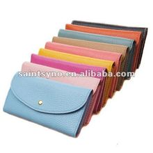 12087 Candy colorful leather coin design your own leather purse