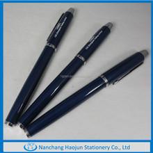 Dark Blue Copper Roller Pen With Parker Refill
