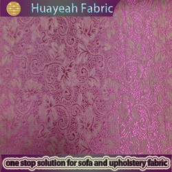 100% Polyester fashion flower design indian office window curtain