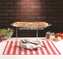 Antiadherente molde para pizza servir stand