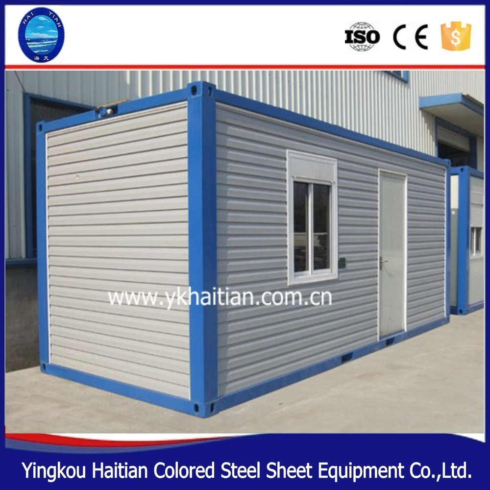 Self contained container house,sea container house,container house ...