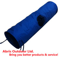 Portable Fabric Pet Play Tunnel for Cats or Dogs