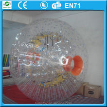 2015 popular and new design roller ball in discount, zorbing youtube ,inflatable human hamster ball