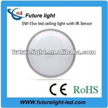 2012 high power technical innovation with IR sensor 15w smd 3014 led panel light