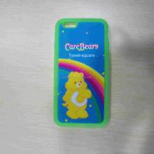 Bear Shape Custom Dust Proof Soft Silicone Phone Case