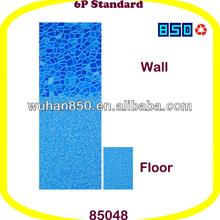 Poly Vinyl Chloride Mosaic Granite Patterned Square Swimming Pool Liner