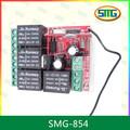 La puerta del garaje 12/24 voltios a distancia de control de relé del receptor smg-854