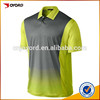 Digital sublimated printing golf polo shirt golf apparel