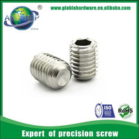 Cup point set screw/ set screw with cup point/ set screw