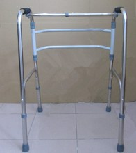 Adjustable Walker with One Crossing Bar