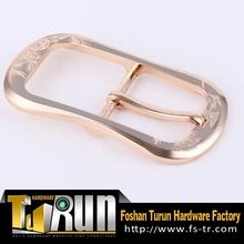 Men belt solid brass pin buckles