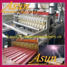 Shandong PVC Wave Roof Sheet/Plate/Tile Making Machine---Plastic Machine