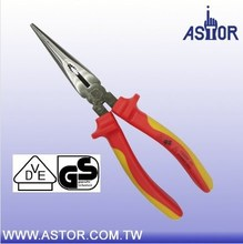 200mm 1000V Insulated Tools VDE Electrician Long Nose Pliers