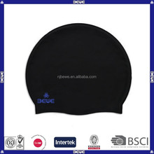 China supplier waterproof bulk silicone swimming cap