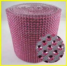 Wholesale 24 Rows 10 Yards Rose Ribbon Trim For Wedding Party Decoration