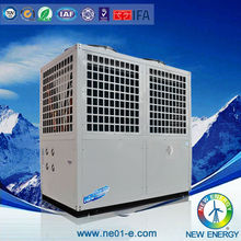 residential and commercial low ambient -25c evi heat pump stainless steel cabinet