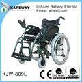 leve cadeira de rodas motorizada com bateria de lítio