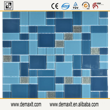 Glass mosaic tile, swimming pool art, high quality swimming pool tile