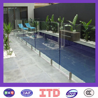 ITD-SF-TGM8204 China high quality hot sale tempered glass fence panels