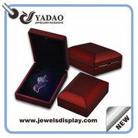 2015 Newest Fashion LED light style jewelry box women makeup organizer Birthday present Wedding / Valentine gift