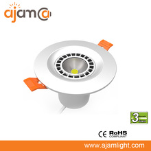color temperature adjustable SAA led downlight 8W 12W one led with three color temperature output