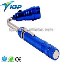 3pcs Portable Telescopic magnetic led torch LED Flashlight